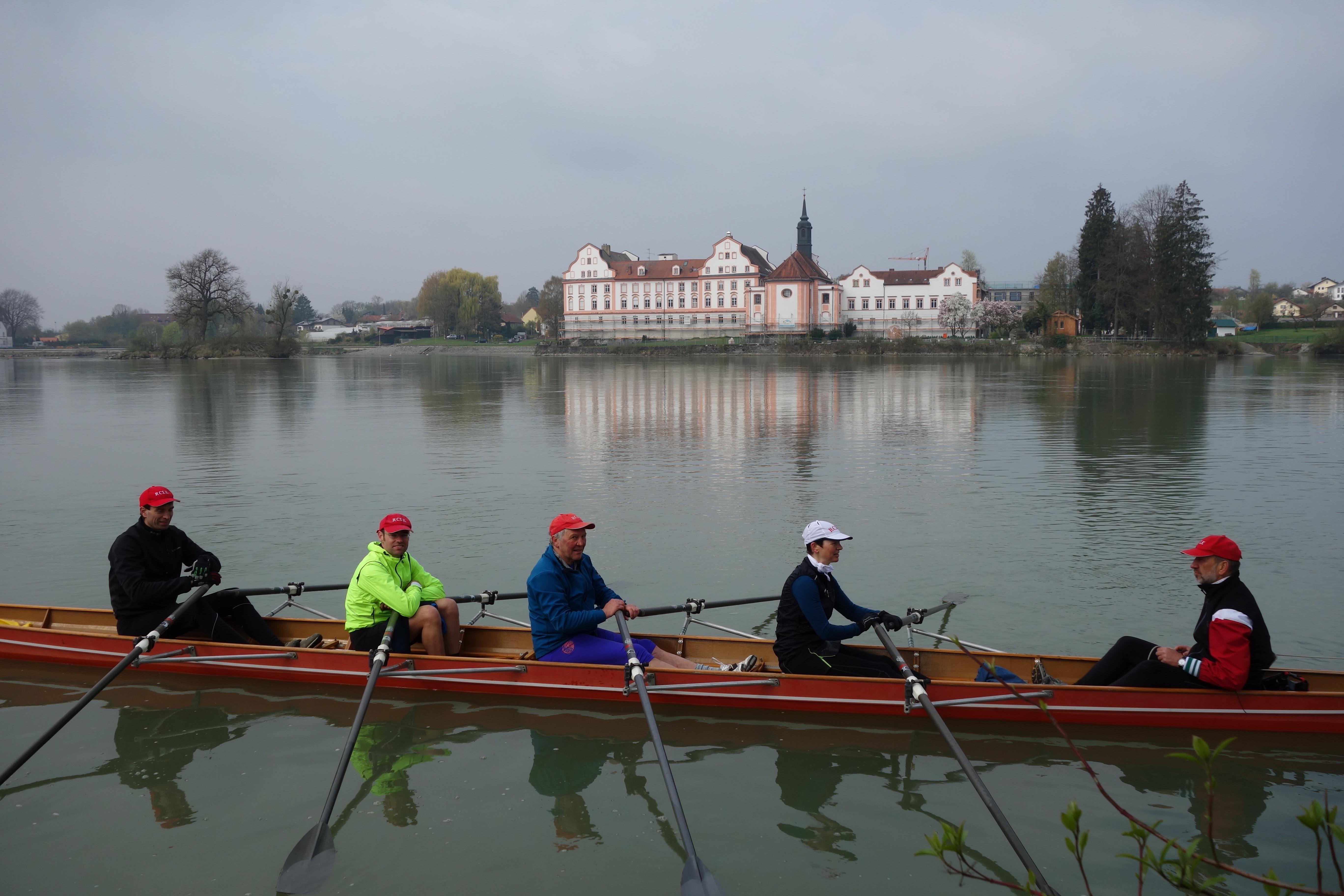 Passau, Fahrt nach Schärding