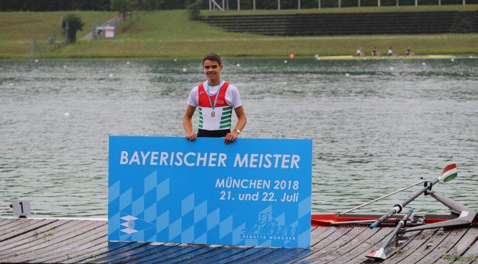 Bayerische Meisterschaft in Oberschleißheim