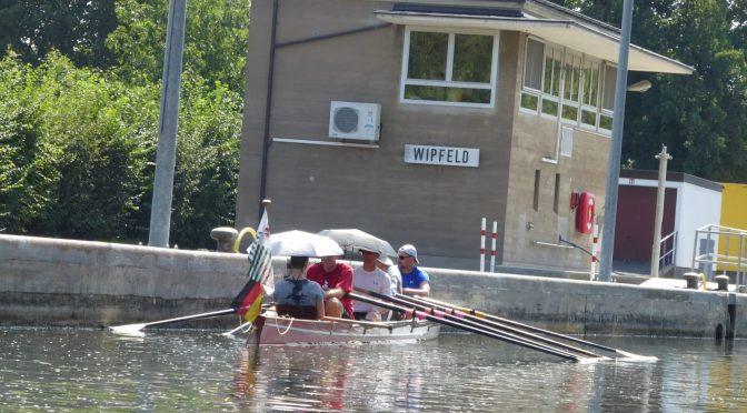 Wanderfahrt Main August 2018