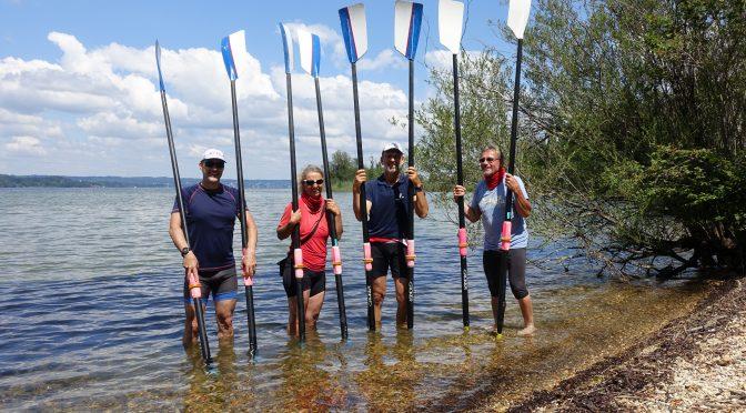 Rudermarathon auf dem Starnberger See